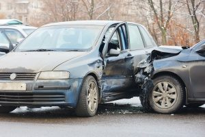 car crash in which one of the drivers' employers purchased commercial auto insurance
